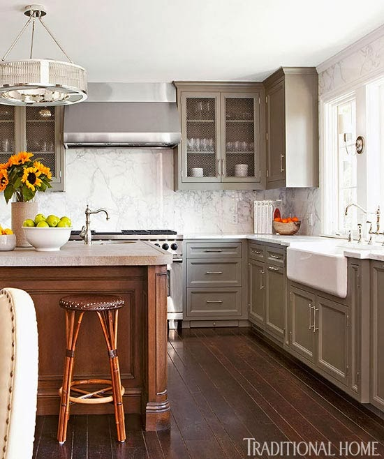 Grey Kitchen Paint: Color Changes Everything: Benjamin Moore Favorites