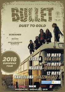 Bullet Gira Española 2018