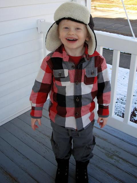 Porter the Lumberjack