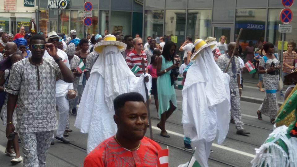 nigeria carnival in austria