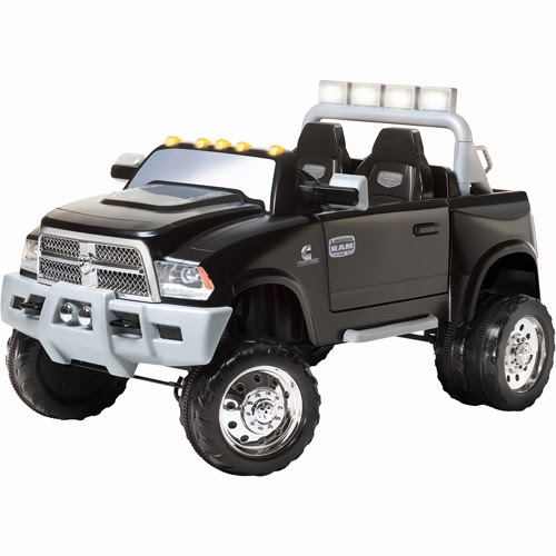 Powered Riding Toys=> Kid Trax Ram 12-Volt Battery-Powered Ride-On