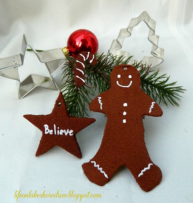 "alt=""Personalize Cinnamon Applesauce Christmas Ornaments"""