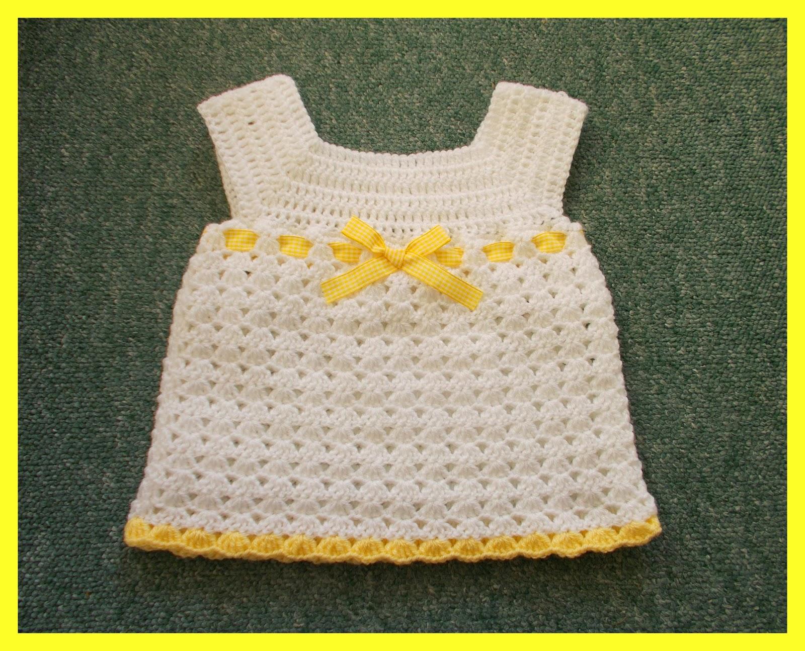 Marianna\'s Lazy Daisy Days: Cute Crochet Baby Dress