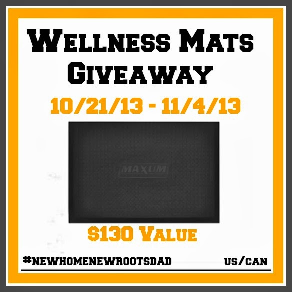 Faith filled footsteps new home new roots wellness mats for New home giveaway