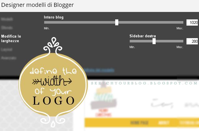 Blog design: come definire la larghezza del logo