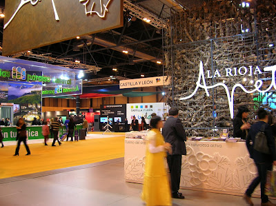 Stand de La Rioja, Fitur, round the world, La vuelta al mundo de Asun y Ricardo, mundoporlibre.com