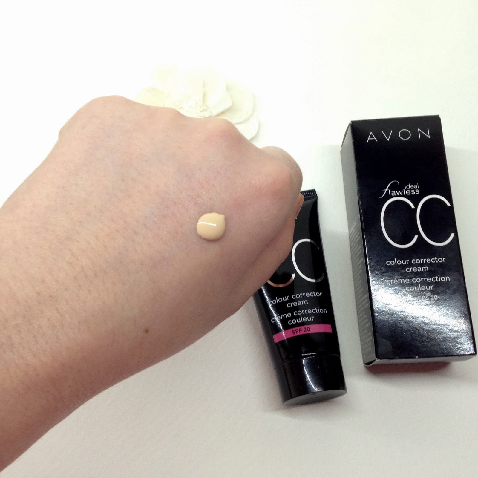 New Avon Ideal Flawless CC color corrector cream SPF20 отзывы