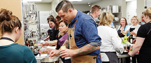 Chef Chuck Hughes, Toronto Food & Wine Festival 2015