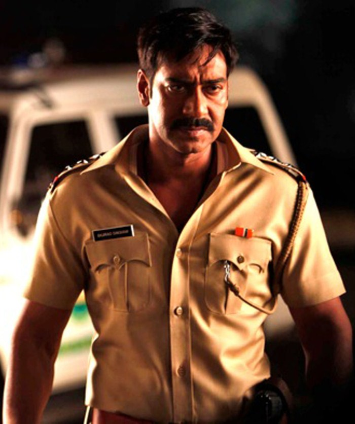 Actress Kajal Agarwal Ajay Devgan Singham Movie Stills ...