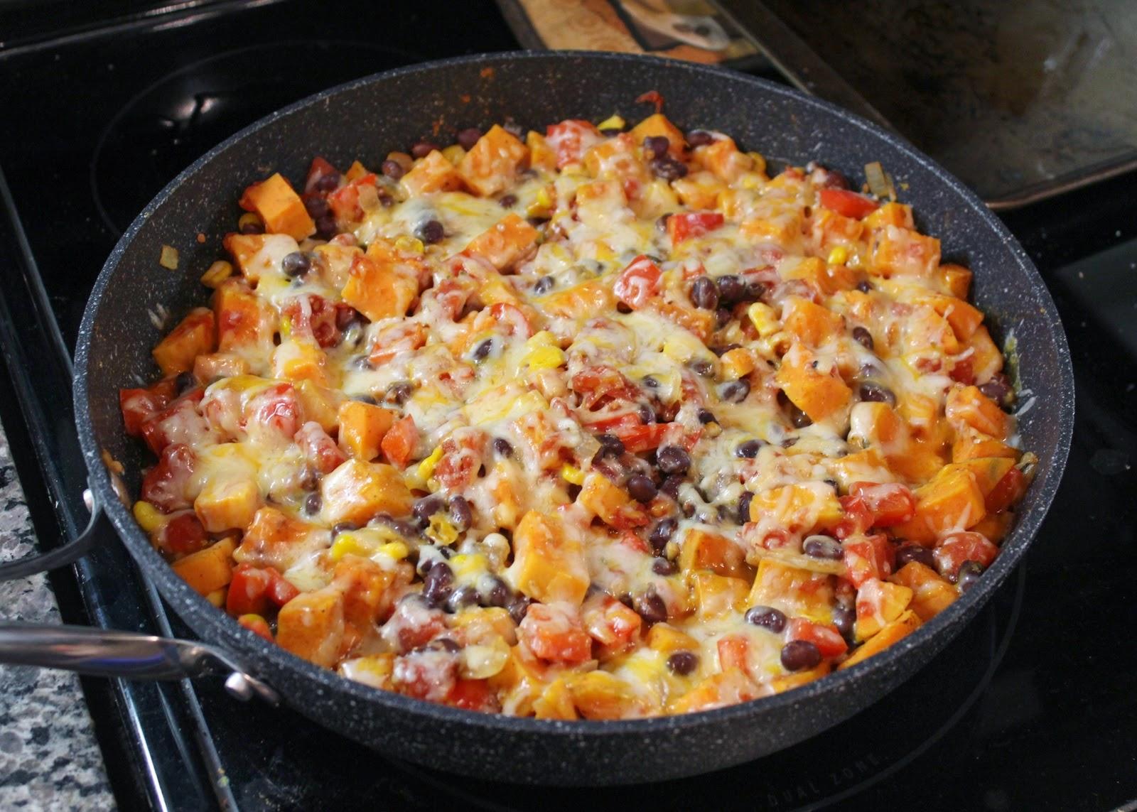 Sweet potato skillet meal