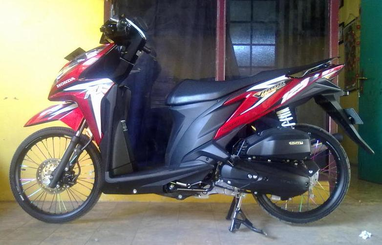Modifikasi Vario 125 Velg 17