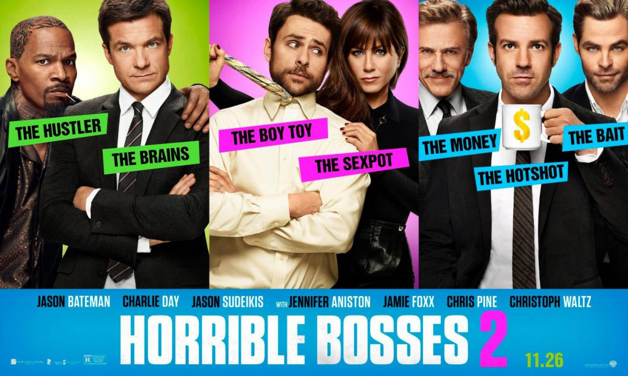 Chew's Reviews – Horrible Bosses 2