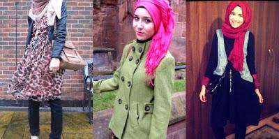 trend hijab 2013 2 Trend Hijab Terbaru 2013