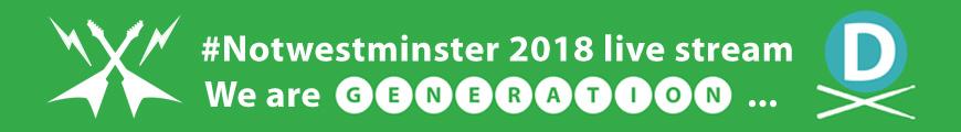 Notwestminster 2018