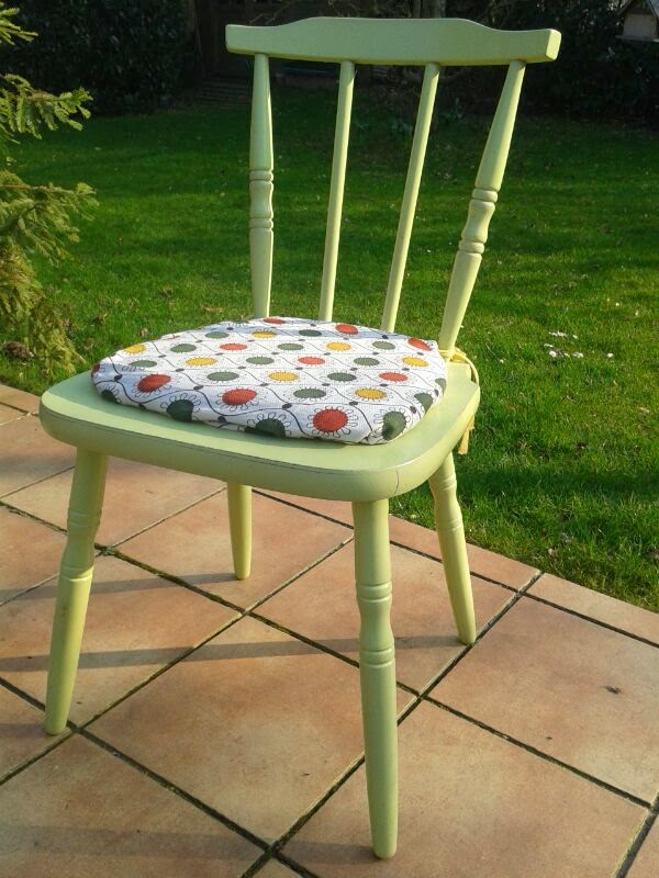 Small thing big love vintage upcycling stuhl for Stuhl upcycling