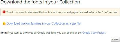 скачать коллекцию шрифтов с Google Web Fonts