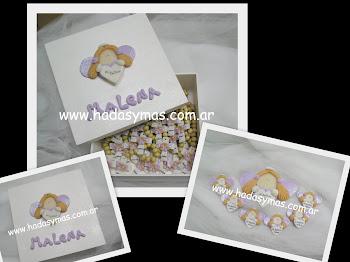 Todo color lila: Denarios, Caja y Adorno de torta