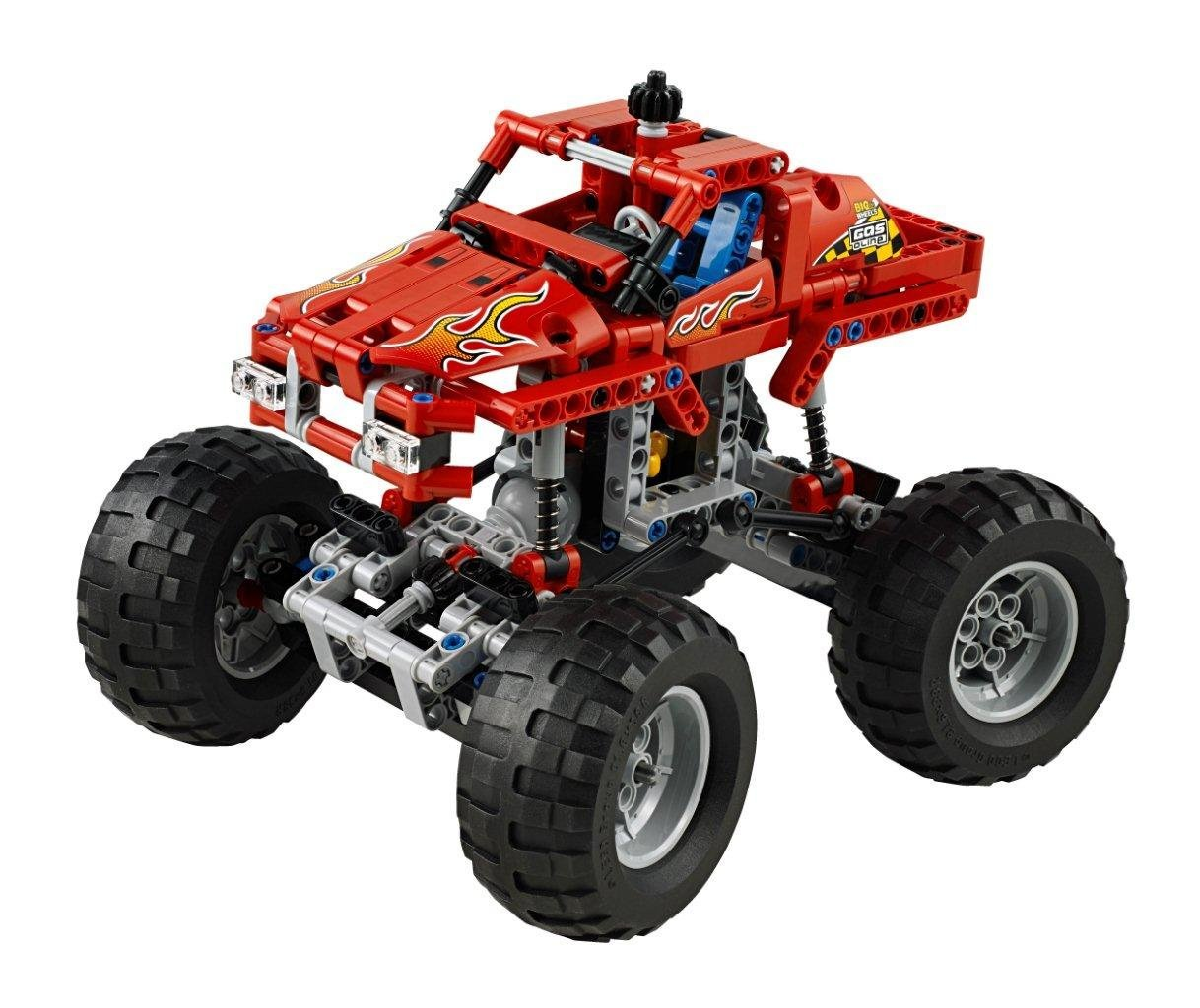my lego style lego technic monster truck 42005. Black Bedroom Furniture Sets. Home Design Ideas