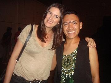 Eu e...Eu e a Linda Susana Barbosa diretora de moda da ELLE.