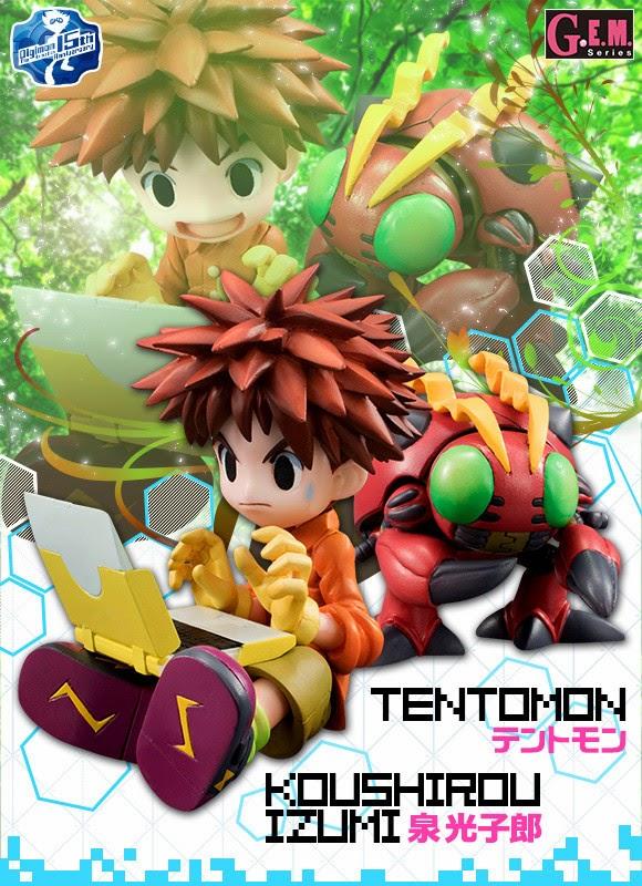[Merchandise] Nova Linha de Figuras de Digimon Adventure Figuras02