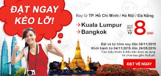 Khuyến mãi Air Asia ngày 02/11/2015