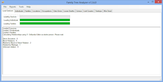 Windows 8 Family Tree Analyzer full