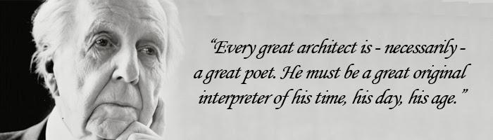 Frank Lloyd Wright Quotes Arsitektung Architecture Quotes #1