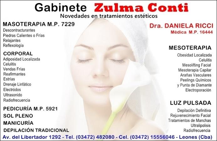 ESPACIO PUBLICITARIO: ZULMA CONTI