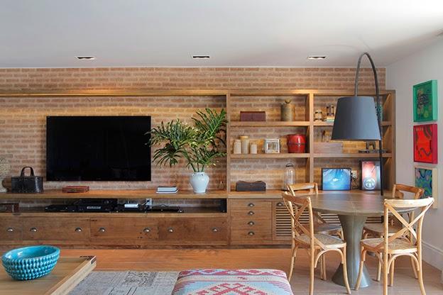 Bricolage e Decoração Várias Ideias para Salas Rústicas