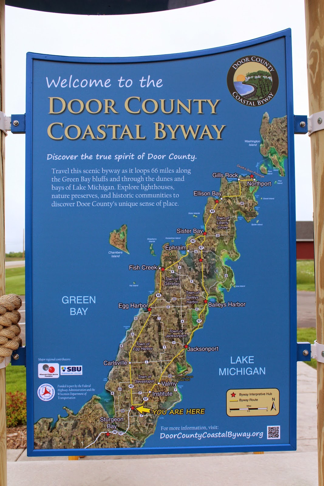 Wisconsin Historical Markers Door County Coastal Byway