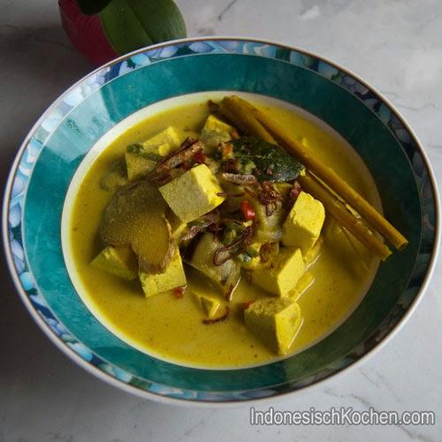 Sayur Tofu rezept