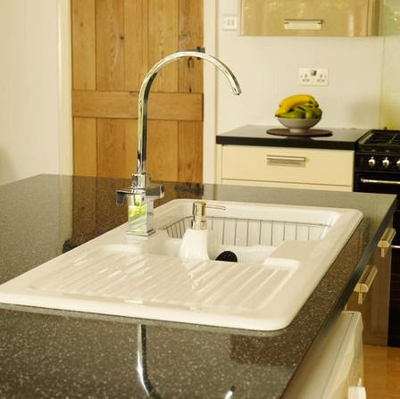 Modern White Kitchen Sink