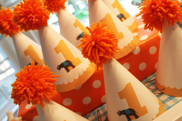 pure joy events tutorial tuesday circus party hat
