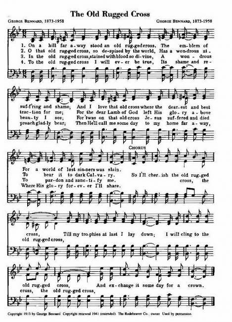 Amazing The Old Rugged Cross (with Lyrics)   Brad Paisley   YouTube. May 3
