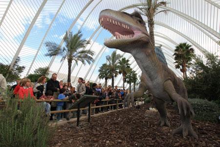La Ciudad de las Artes y las Ciencias prorroga la exposición 'Entre Dinosaurios' hasta el próximo 1 de noviembre