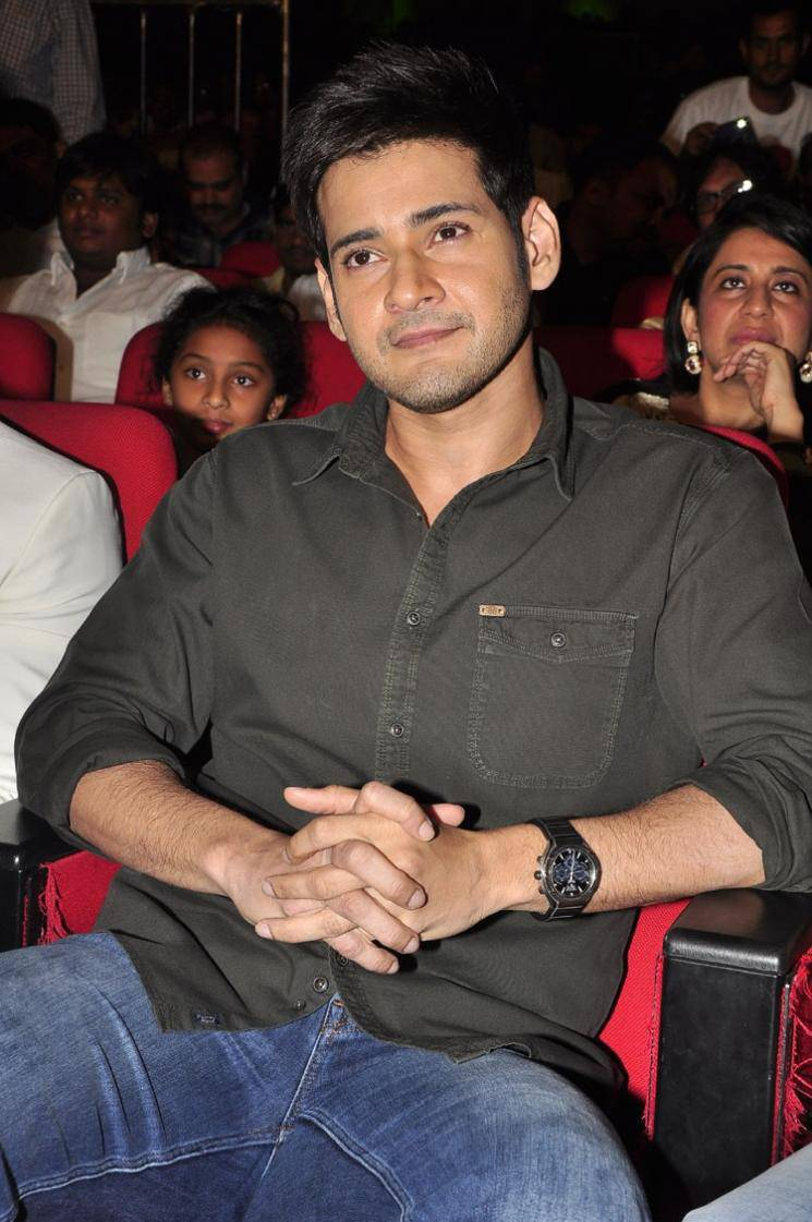 Mahesh Babu Stills At Bhale Manchi Roju Movie Audio Launch