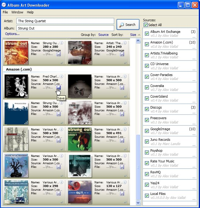 Album Art Downloader 0.44 full