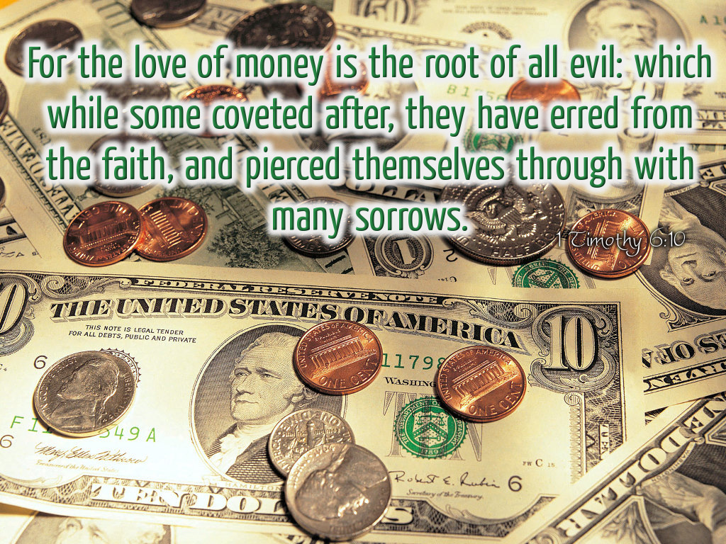 money is the root of all evil essay