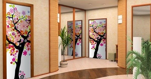 Decoraci n de puertas en interiores decoraci n del hogar for Decoracion hogar diseno