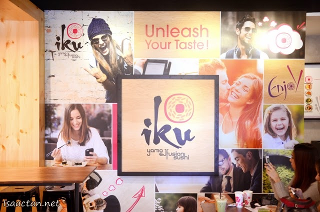 IKU Japanese Fusion Sushi Soft Launch @ Damansara Uptown