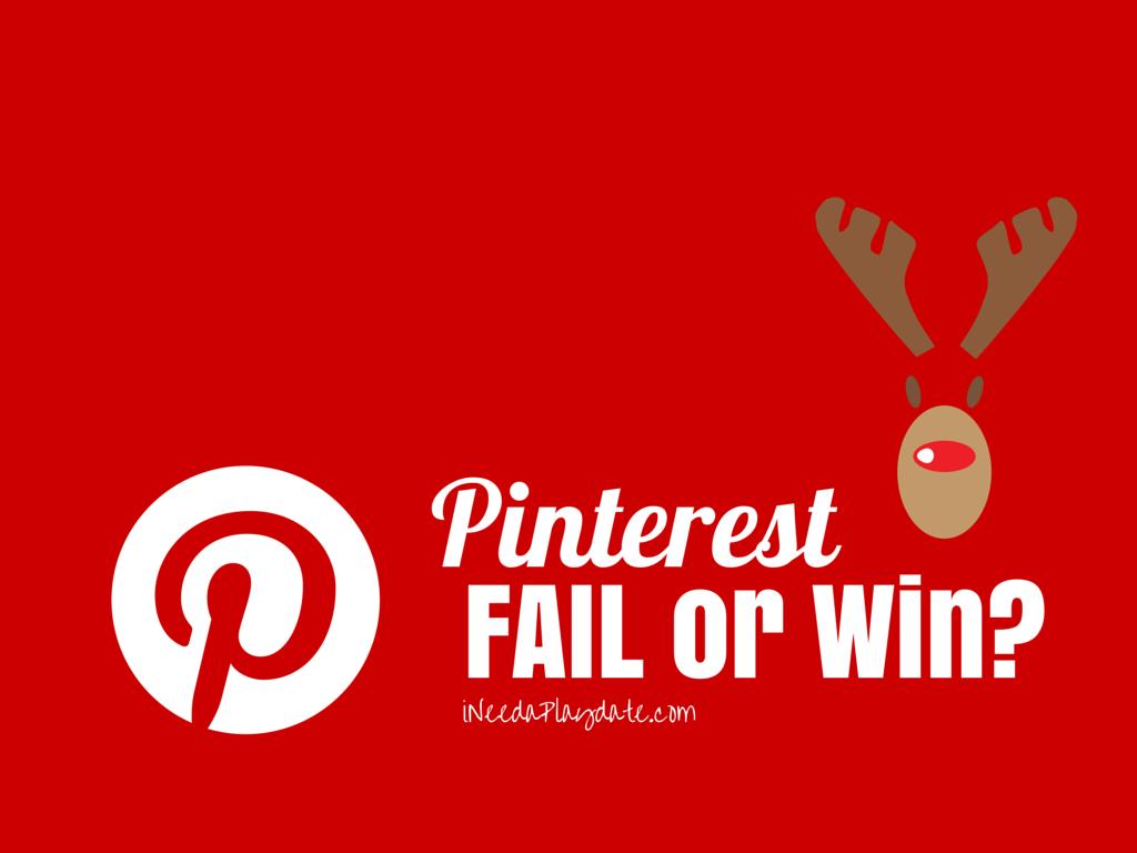 Pinterest Win? Rudolph Snack Mix Recipe