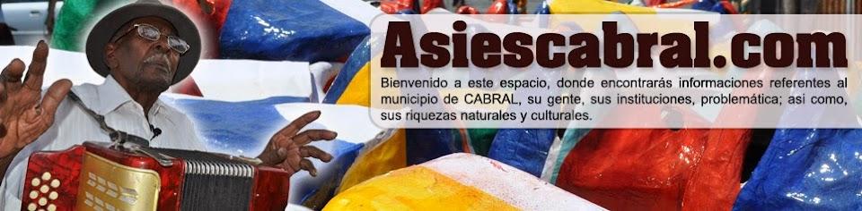 Asi es Cabral