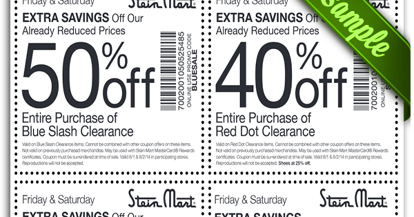 picture regarding Stein Mart Printable Coupon identified as Steinmart retail store discount codes - Try out ancestry cost-free weekend