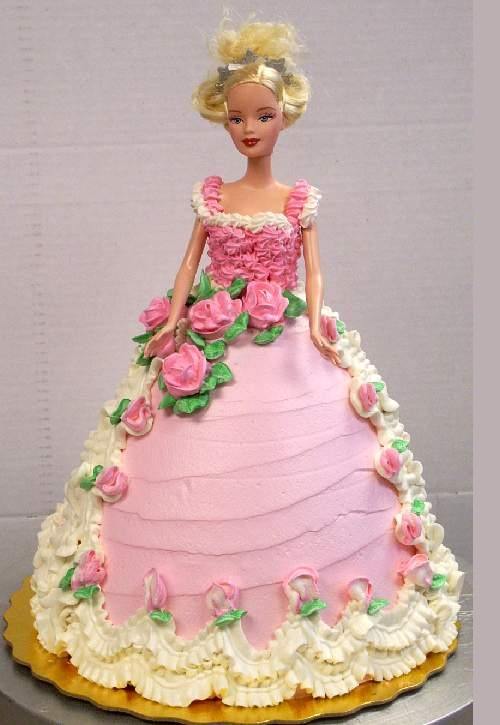 Barbie Doll Cake ~ Cooking Images