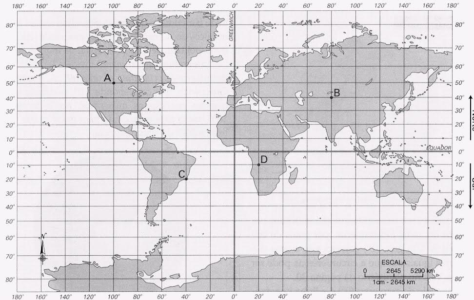 Coordenadas Geogr  Ficas