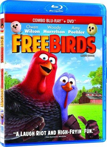Free Birds 3D SBS Latino