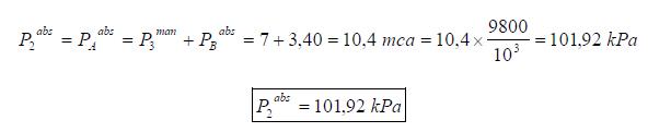 Ejercicio resuelto de estatica de fluidos manometro y vacuometro formula 3 problema 3
