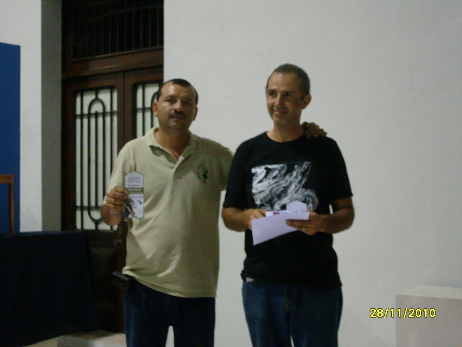 Con mi Maestro enrique Castaño felab 2010