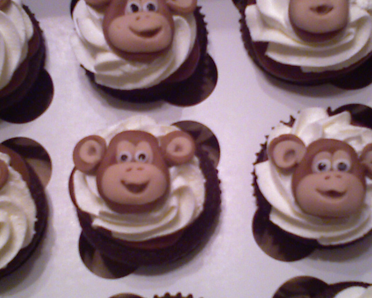 Monkey love cupcakes - photo#20