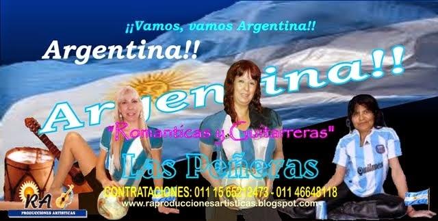 Las Peñeras Mas Argentinas que nunca!!!